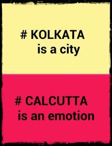 Ahh. Calcutta!
