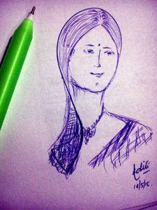 Doodle-lady